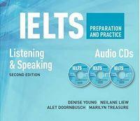 Диск для лазерних систем зчитування IELTS Preparation and Practice: Speaking and Listening: Audio CDs (шт)