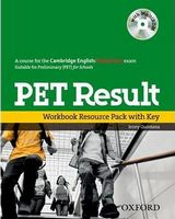 Підручник PET Result!: Workbook Resource Pack with key