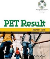 Підручник PET Result!: Teacher's Pack
