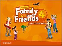 Набір плакатів та наглядних карток Family & Friends 2E: 4 Teacher's Resource Pack