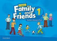 Набір плакатів та наглядних карток Family & Friends 2E: 1 Teacher's Resource Pack