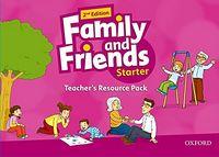 Набір плакатів та наглядних карток Family & Friends 2E: Starter Teacher's Resource Pack