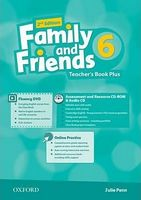 Підручник Family & Friends 2E: 6 Teacher's Book Plus Pack