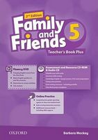 Підручник Family & Friends 2E: 5 Teacher's Book Plus Pack (шт)