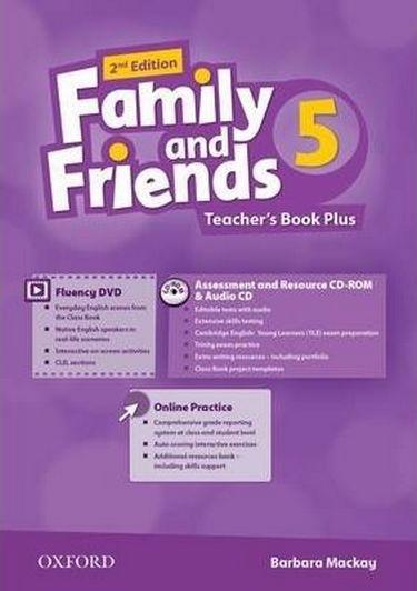 %D0%9F%D1%96%D0%B4%D1%80%D1%83%D1%87%D0%BD%D0%B8%D0%BA+Family+%26+Friends+2E%3A+5+Teacher%27s+Book+Plus+Pack+%28%D1%88%D1%82%29 - фото 1
