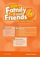 Підручник Family & Friends 2E: 4 Teacher's Book Plus Pack