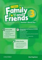 Підручник Family & Friends 2E: 3 Teacher's Book Plus Pack