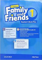 Підручник Family & Friends 2E: 1 Teacher's Book Plus Pack (шт)