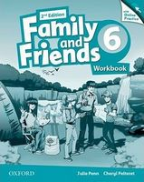Підручник Family & Friends 2E: 6 Workbook & Online Practice Pack