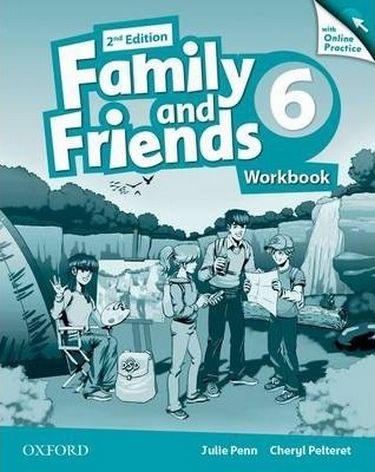 %D0%9F%D1%96%D0%B4%D1%80%D1%83%D1%87%D0%BD%D0%B8%D0%BA+Family+%26+Friends+2E%3A+6+Workbook+%26+Online+Practice+Pack - фото 1