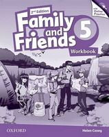 Підручник Family & Friends 2E: 5 Workbook & Online Practice Pack