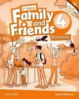 Підручник Family & Friends 2E: 4 Workbook & Online Practice Pack