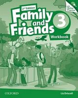 Підручник Family & Friends 2E: 3 Workbook & Online Practice Pack (шт)
