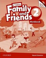 Підручник Family & Friends 2E: 2 Workbook & Online Practice Pack