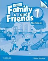 Підручник Family & Friends 2E: 1 Workbook & Online Practice Pack