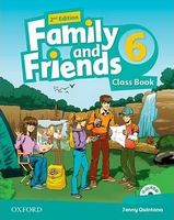 Підручник Family & Friends 2E: 6 Class Book Pack