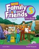 Підручник Family & Friends 2E: 5 Class Book Pack (шт)