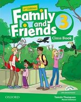 Підручник Family & Friends 2E: 3 Class Book Pack (шт)