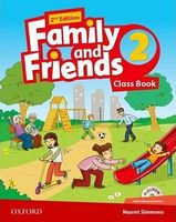 Підручник Family & Friends 2E: 2 Class Book Pack (шт)