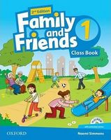 Підручник Family & Friends 2E: 1 Class Book Pack (шт)