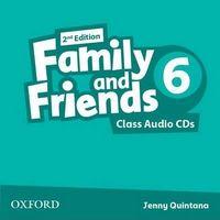 Диск для лазерних систем зчитування Family & Friends 2E: 6 Class Audio CD (2) (шт)