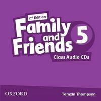 Диск для лазерних систем зчитування Family & Friends 2E: 5 Class Audio CD (2) (шт)