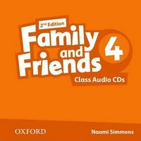 Диск для лазерних систем зчитування Family & Friends 2E: 4 Class Audio CD (2)