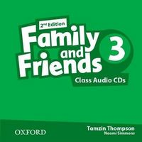 Диск для лазерних систем зчитування Family & Friends 2E: 3 Class Audio CD (2)