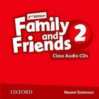 Диск для лазерних систем зчитування Family & Friends 2E: 2 Class Audio CD (2)