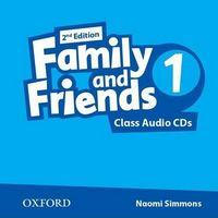 Диск для лазерних систем зчитування Family & Friends 2E: 1 Class Audio CD (2)