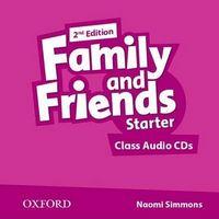 Диск для лазерних систем зчитування Family & Friends 2E: Starter Class Audio CD (2)