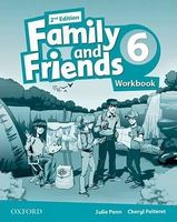 Підручник Family & Friends 2E: 6 Workbook
