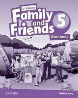 Підручник Family & Friends 2E: 5 Workbook