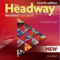Диск для лазерних систем зчитування New Headway 4th Ed Elementary: Class Audio CDs