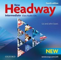 Диск для лазерних систем зчитування New Headway 4th Ed Intermediate: Class Audio CDs