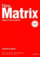 Підручник New Matrix Upper-Int: Teacher's Book