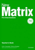 Підручник New Matrix Pre-Int: Teacher's Book (шт)