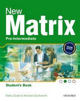 Підручник New Matrix Pre-Int: Students Book (шт)