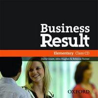Диск для лазерних систем зчитування Business Result Elementary: Audio CD