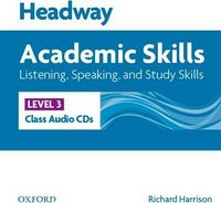 Диск для лазерних систем зчитування Headway 3 Academic Skills: Listening & Speaking Class Audio CDs