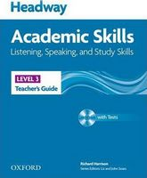 Підручник Headway 3 Academic Skills: Listening & Speaking Teacher's Book