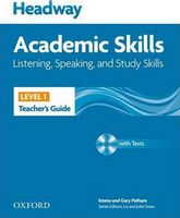 Підручник Headway 1 Academic Skills: Listening & Speaking Teacher's Book