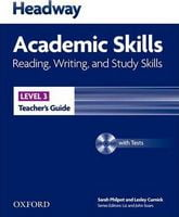 Підручник Headway 3 Academic Skills: Reading & Writing Teacher's Book