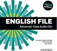 Диск для лазерних систем зчитування English File 3rd Edition Advanced: Class Audio CD (5)