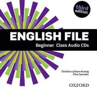 Диск для лазерних систем зчитування English File 3rd Edition Beginner: Class Audio CDs (4)