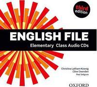 Диск для лазерних систем зчитування English File 3rd Edition Elementary: Class Audio CDs (4)
