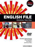 Диск для лазерних систем зчитування English File 3rd Edition Elementary: Class DVD