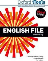 Диск для лазерних систем зчитування English File 3rd Edition Elementary: iTools DVD-ROM