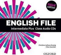 Диск для лазерних систем зчитування English File 3rd Edition Intermediate Plus: Class Audio CD (4)