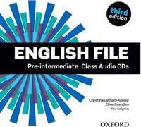 Диск для лазерних систем зчитування English File 3rd Edition Pre-Intermediate: Class Audio CDs (4)